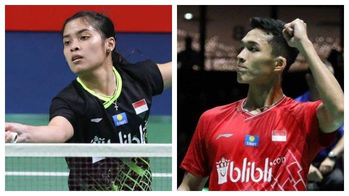 Gregoria Mariska dan Jonatan Christie Kalah, Indonesia Sisakan 2 Wakil di Semifinal Korea Open 2019