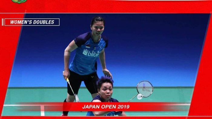 Streaming Japan Open 2019 Greysia/Apri dan Tommy Sugiarto Tersingkir, Anthony Ginting Sedang Main