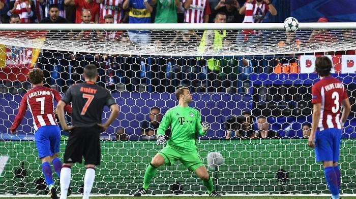 Diego Simeone Santai Griezmann Gagal Penalti