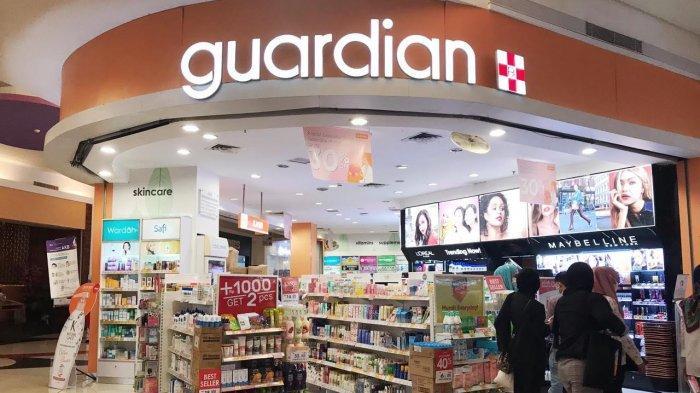 Guardian Diskon 50 Persen, Hanya Tambah Seribu Dapat 2 Produk