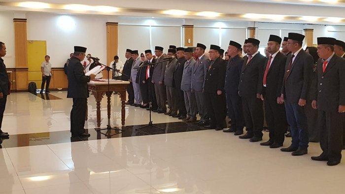 Gubernur Sulbar Mutasi 15 Pejabat Eselon II, Berikut Nama-namanya