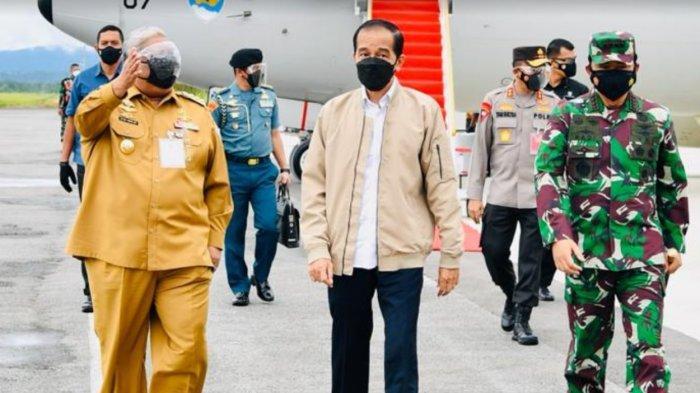 Tiba di Kendari, Presiden Jokowi Buka Munas Kadin Sore Ini
