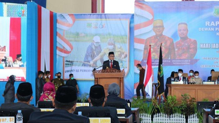 Gubernur Sulsel Bahas Vaksinasi Covid-19 di HUT ke-61 Pinrang