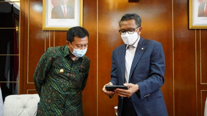 Terima Kunjungan Basli Ali, Gubernur Sulsel Bahas Listrik Selayar