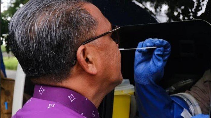 Sudah 2 Hari Pasien Corona Naik, Gubernur Sulsel Pun 'Dumba-dumba' Tes Swab, Agenda Nurdin Hari Ini