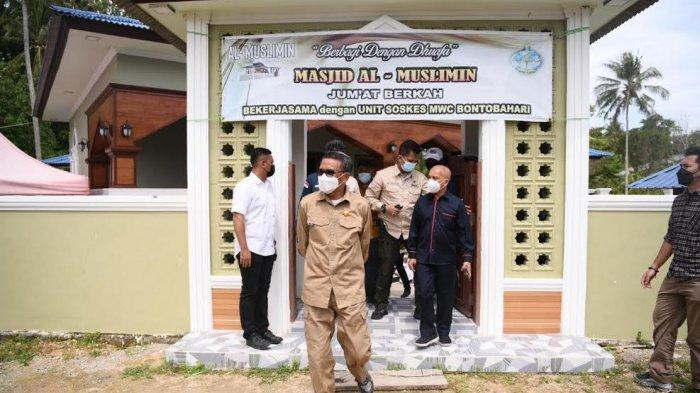 Lokasi Pembuatan Pinisi Tana Beru Kini Miliki Masjid untuk Wisatawan