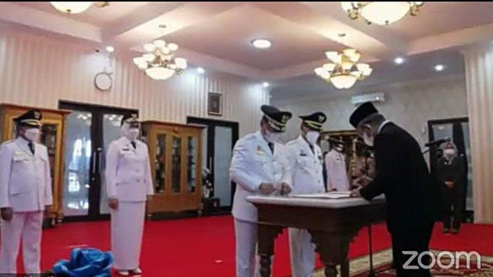 BREAKING NEWS: Gubernur Sulbar Resmi Lantik Tiga Bupati dan Wakil Bupati