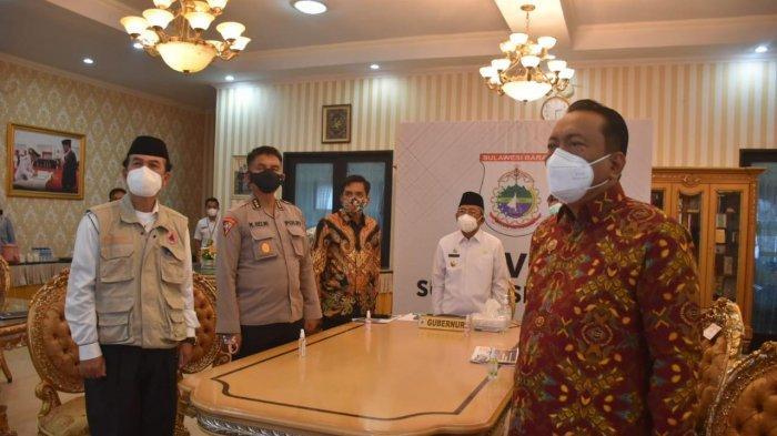 Ini yang Akan Dilakukan Gubernur Sulbar Setelah Ikuti Rakornas Penanggulangan Bencana