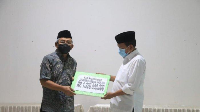 Pemprov Sulbar Kucurkan Rp 1,3 M untuk Pembangunan Masjid di Pasangkayu