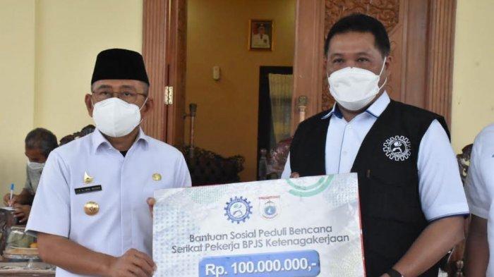 Ahli Waris Korban Gempa di Mamuju Terima Santunan dari BPJS Ketenagakerjaan, Nilainya Rp100 Juta