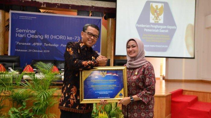 Luwu Utara Raih Penghargaan Kementerian Keuangan, Ini Prestasinya