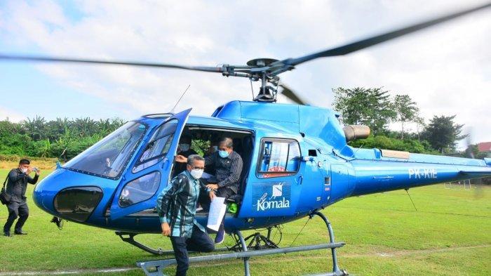 Bupati Sidrap Dampingi Gubernur Pantau Potensi Banjir