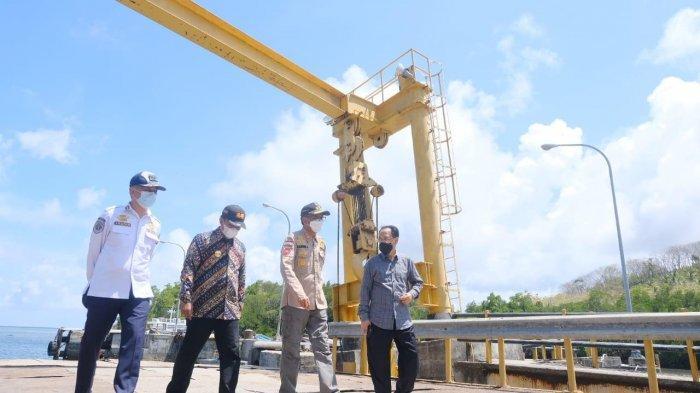 Selayar Menuju KEK Pariwisata, Gubernur Sulsel Tinjau Pelabuhan Pattumbukan