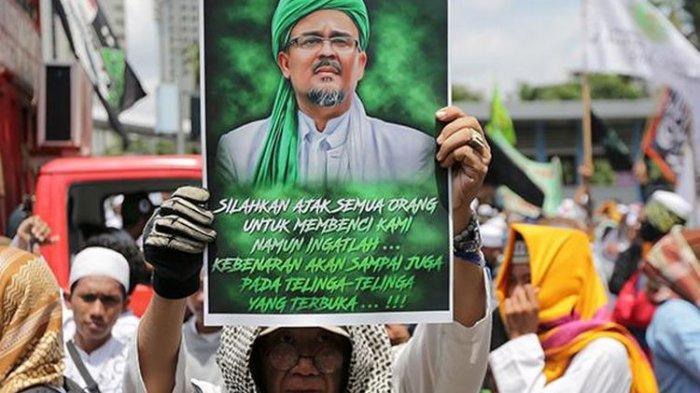 FPI Habib Rizieq Shihab Cukup Cantumkan 1 Syarat Agar Terdaftar di Kemendagri Tito Karnavian, Mau?