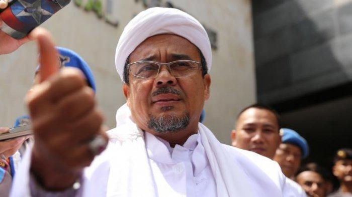Habib Rizieq Ogah Pulang Sebelum Indonesia Aman, Usul Tagar #2019PrabowoPresiden