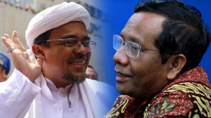 Siapa Rizieq? Pimpinan FPI Bernama Lengkap Muhammad Rizieq Shihab Buat Mahfud MD Buka Suara