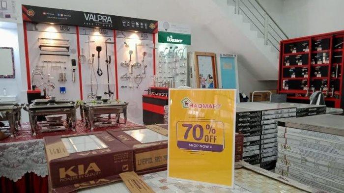 Spesial Opening, Ada Diskon 70% Keramik + 5% Semua Produk di Haomart Perintis