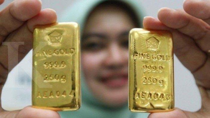 Harga Terbaru Emas Antam Retro dan UBS di Pegadaian Hari ini Sabtu 6 Maret 2021
