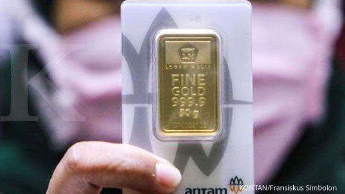 Rincian Harga Emas Batangan Antam 24 Karat Hari Ini Selasa 8 Juni 2021, Naik Rp 1.000