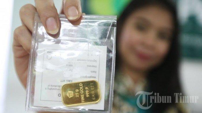 Harga Emas 1 Gram UBS Naik Rp4.000 Hari ini Jumat 9 April 2021, Menjadi Rp 920.000 per gram