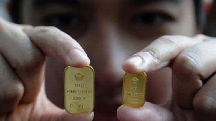 Turun Rp 3.000 Hari Ini, Rincian Harga Emas Antam 9 Juni 2021