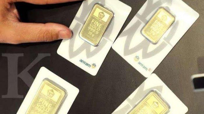 Harga Terbaru Emas Antam Retro dan UBS di Pegadaian Hari ini Selasa 9 Maret 2021, Pecahan 0,5 gram