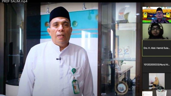 Hari ke-8 Pesantren Virtual UMI, Ini Tiga Sifat Islami di Bulan Ramadan Menurut Prof Salim Basalamah