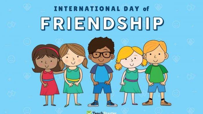 TRIBUNWIKI: Ini Sejarah Hari Persahabatan Dunia, Diperingati Tiap 30 Juli, BTS Launching Video