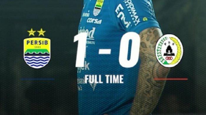 Hasil Akhir Persib vs PSS Sleman Liga 1 2019: Erwin Ramdani Jadi Pahlawan Maung Bandung Skor 1-0