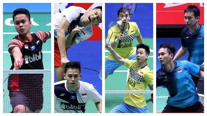 Hasil China Open 2019-Anthony Sinisuka Ginting dan 3 Ganda Putra Indonesia Melaju ke Babak Semifinal