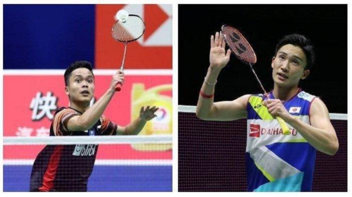 Hasil China Open 2019-Setelah Kalahkan Anders Antonsen,Anthony Ginting Tantang Kento Momota di Final