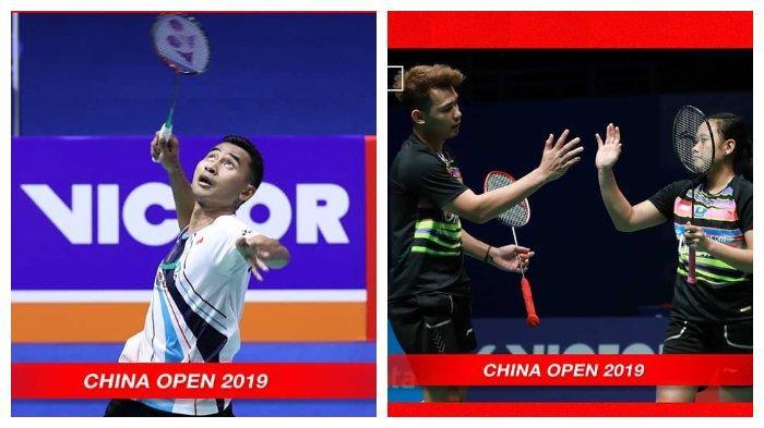 Hasil China Open 2019-Tommy Sugiarto Takluk dari Kento Momota, Rinov/Pitha Ikut Angkat Koper
