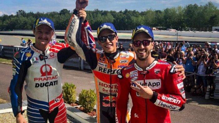 Hasil dan Klasemen Lengkap MotoGP 2019 Setelah Seri Ceko, Marc Marquez Kokoh di Puncak, Rossi?