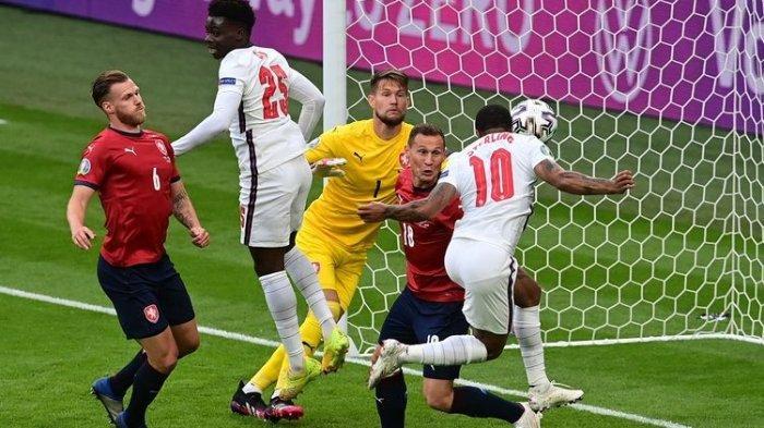 Hasil Euro 2020 Ceko Vs Inggris 0-1, The Three Lions Juara Grup D, Siapa Lawannya di Babak 16 Besar?