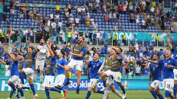 Hasil Euro 2020 Italia Vs Austria, Gli Azzurri Lolos ke Perempat Final usai Berjuang 120 Menit