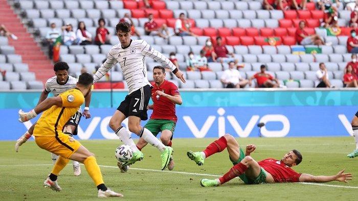 Hasil Euro 2020 Portugal Vs Jerman 2-4, 2 Gol Bunuh Diri Jadi Mimpi Buruk Tim Selecao das Quinas