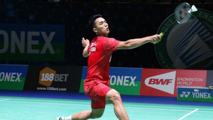 Hasil Indonesia Open 2019: Jonatan Christie Lolos dari Hadangan Wakil Denmark, Rasmus Gemke