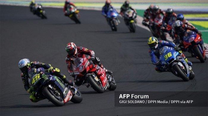 Urutan Star Hasil Kualifikasi MotoGP 2020 Valencia, Joan Mir, Rossi, A Marquez Hancur Lebur Tercecer