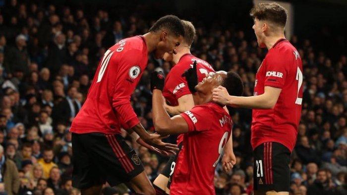 Klasemen Lengkap dan Hasil Liga Inggris Cuplikan Gol Manchester United Bungkam Tuan Rumah City