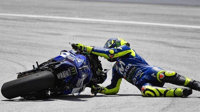 Klasemen dan Hasil MotoGP Catalunya 2021, Rossi dan Marquez Sama-sama Bernasib Buruk