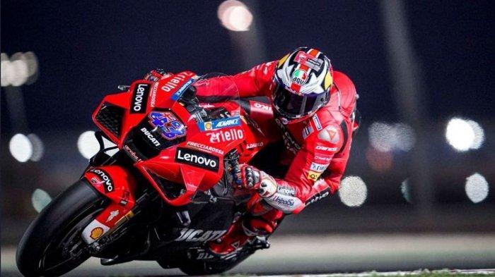 Hasil FP2 MotoGP Doha 2021: Rossi Dikalah Cepat Jack Miller dari Tim Ducati, Bagnaia Turun Posisi