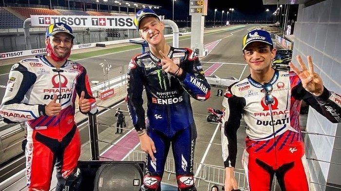 KLASEMEN dan Hasil MotoGP Doha 2021 Tadi Malam: Petaka Alex Marquez, Rossi Finish Posisi 16