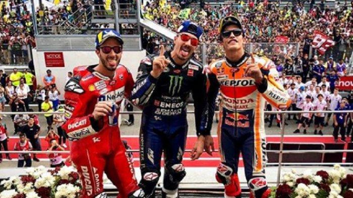 Hasil & Klasemen MotoGP 2019 Setelah Seri Malaysia, Vinales Tercepat, Marquez Kedua, Rossi?