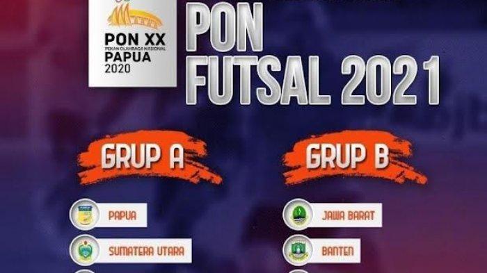 Masuk Grup Neraka PON XX Papua, Pelatih Tim Futsal Sulsel Tak Gentar