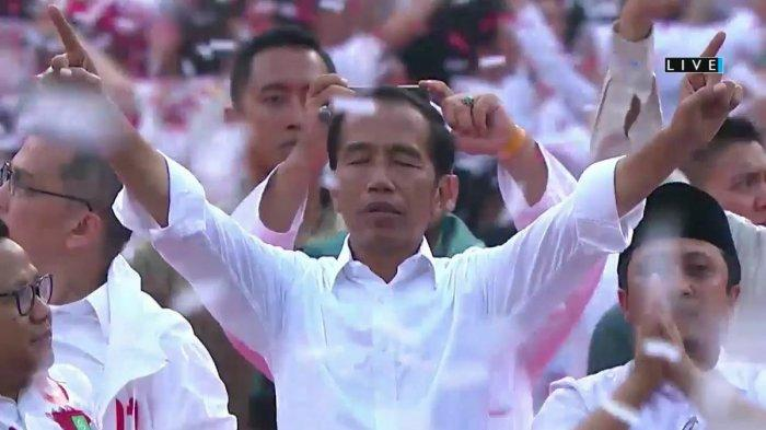 Alasan Jokowi - Maruf Kalahkan Prabowo Padahal Survei Terakhir 01 Cuma  49 % versi Litbang Kompas