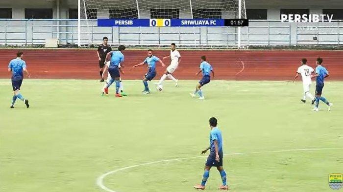 Skor Hasil Laga Uji Coba Persibvs SriwijayaFC Hari ini, Berikut Starting Line Up Maung Bandung