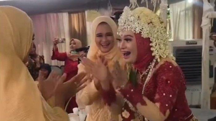Viral Pengantin Wanita Pimpin Pesta Joget Massal di Resepsi Pernikahan