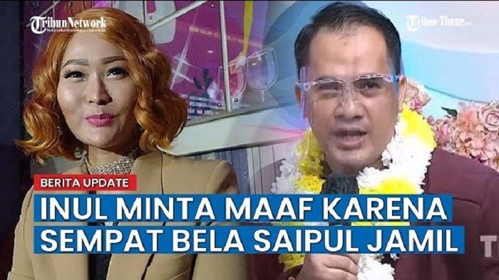 The Power of Netizen Indonesia, Inul Daratista Awalnya Bela Saiful Jamil Kini Minta Maaf