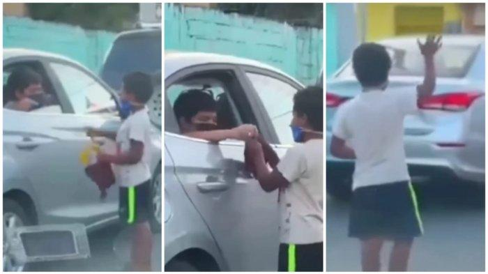 Bikin Terenyuh, Anak Kaya Main Mobil-Mobilan dengan Anak Jalanan Viral di Instagram