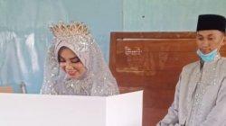 Penganti Baru Akhmad Muarif dan Puspa Sari, Warga Pangkep Memilih Pakai Baju Resepsi Pernikahan